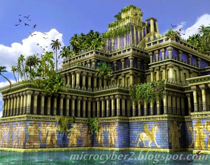 Taman Gantung Babilonia, Irak