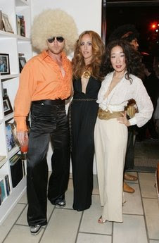 sandra oh kevin mckidd kim raver kate walsh 70's glam rock disco dance party