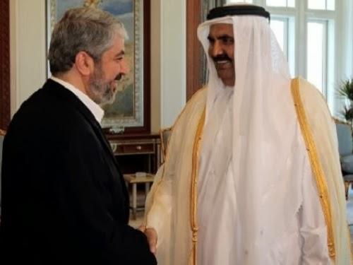 Emir Qatar bersama Khalid Misyal - mepanorama.com