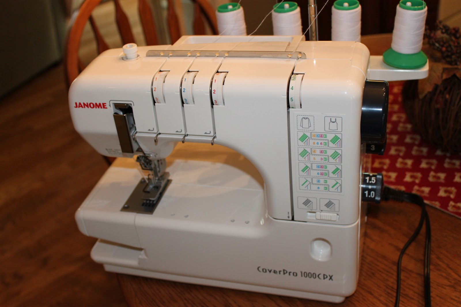 JanMade: Janome Coverpro 1000 CPX