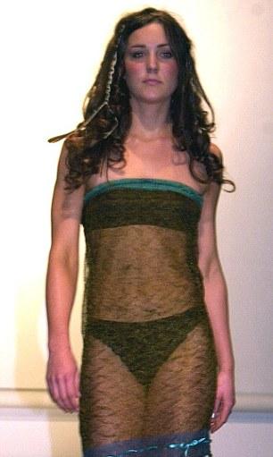 kate middleton vivien sheriff. Kate Middleton modeling at St