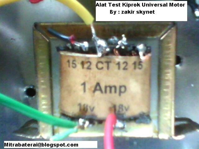 Cara Mudah Membuat Alat Test Kiprok Motor