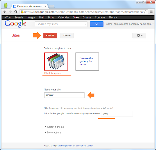 Dashboard screen of your Google Apps Admin Control Panel