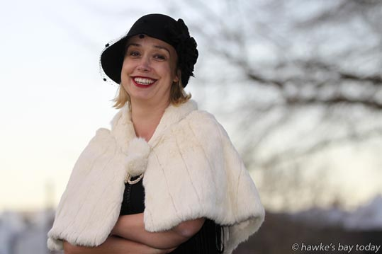 Sally Jackson, general manager, Art Deco Trust, story about the Winter Art Deco, pictured in Hastings. photograph