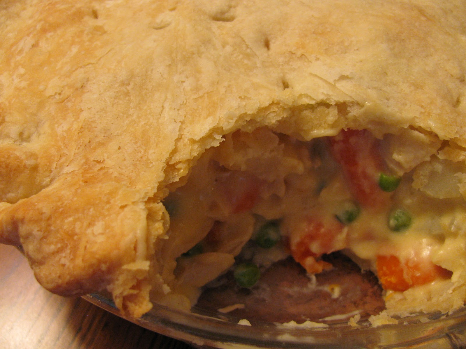 Creamy Chicken Pot Pie Recipe — Dishmaps