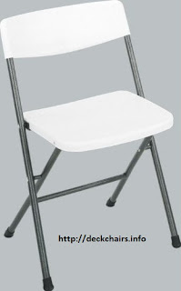 Cosco Folding chairs White Resin
