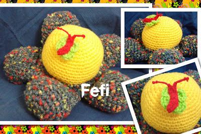 flor tejida - crochet - fefi - amigurumi