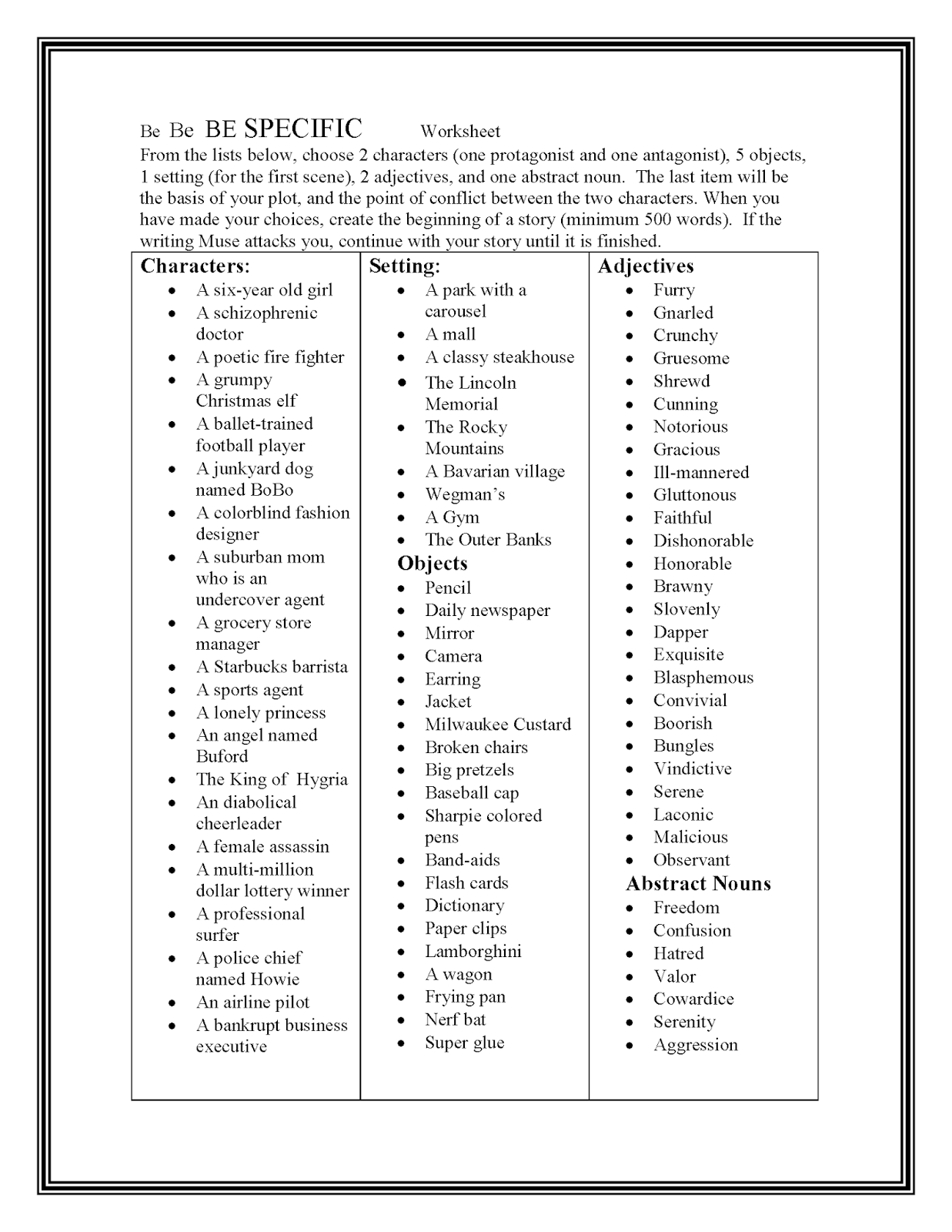 30 Ideas for Teaching Writing