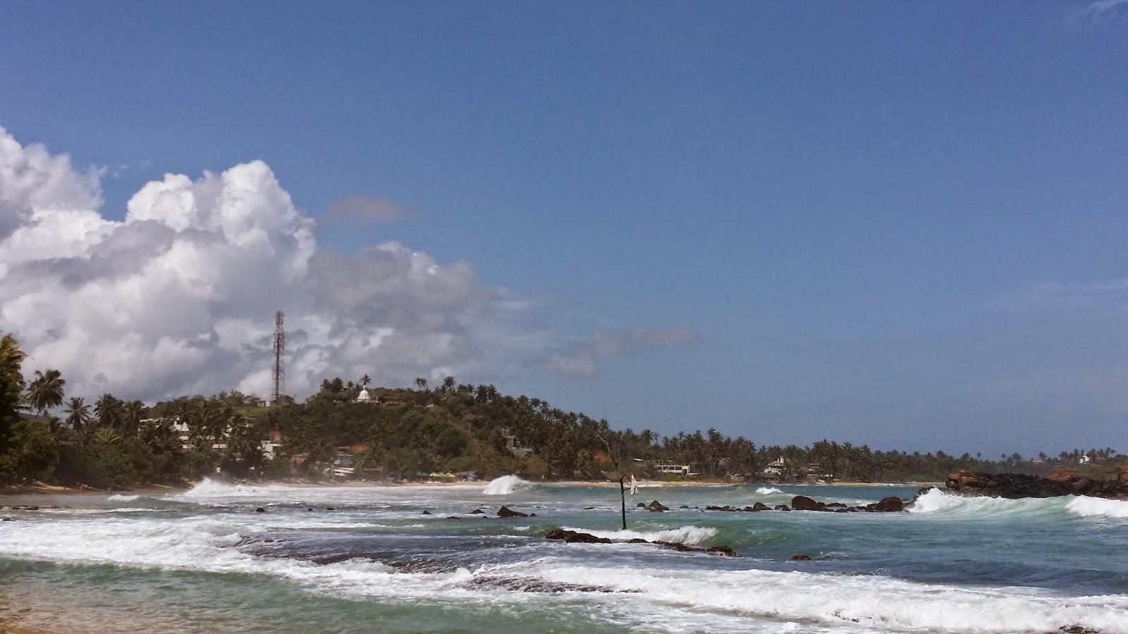 Bahía de Mirissa (Sri Lanka)