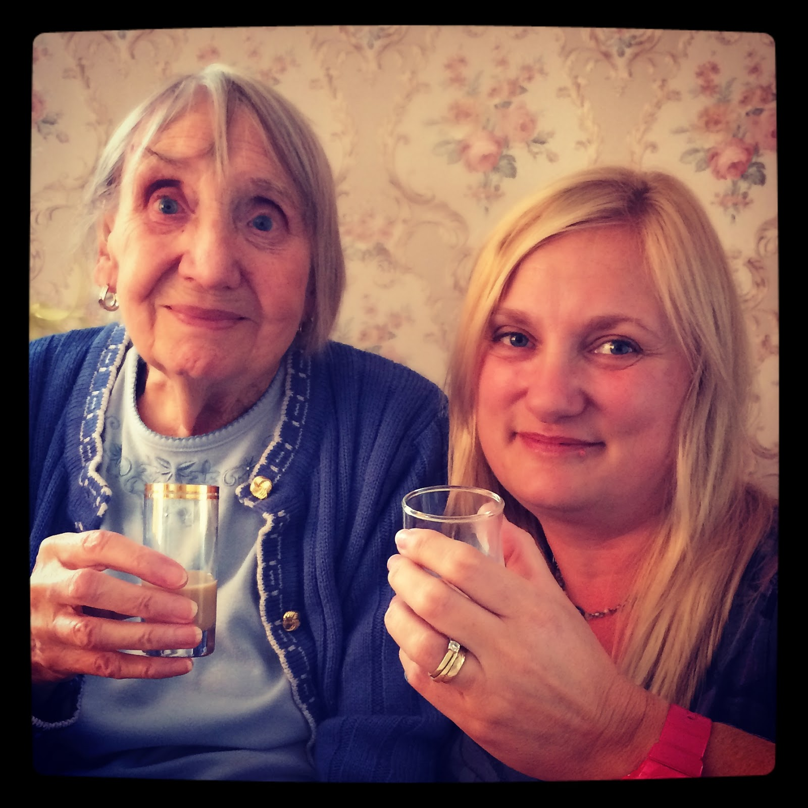90 year old gran and granddaughter madmumof7
