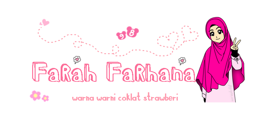 ♥ Warna Warni Coklat Strawberi ♥