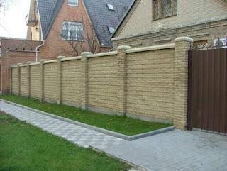 Кирпичный забор. Фото 14