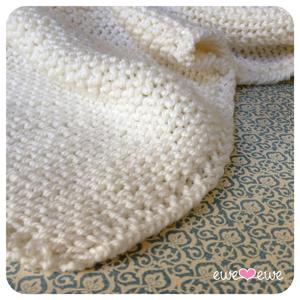 Ewe Ewe Serenity Blanket Free Knitting Pattern