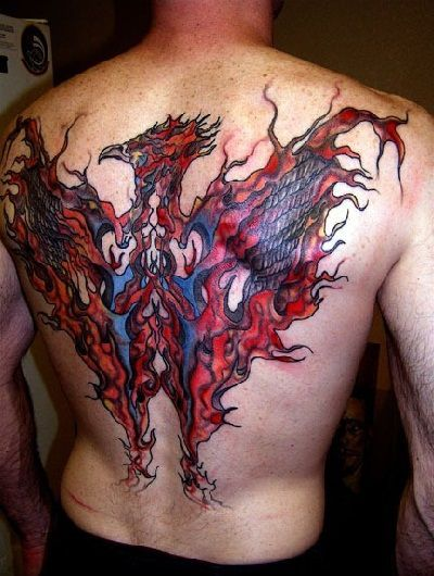 Back tattoos designs for guys: Tumbler of Photos