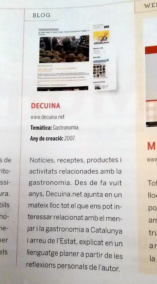 decuina.net a la revista cuina