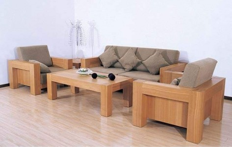 Awesome Wooden Sofa Design Inspiration For Living Room