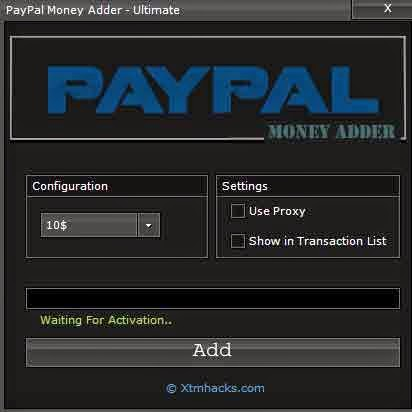 how to add money in paypal india