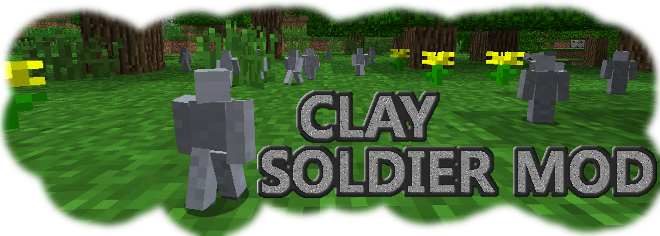 Minecraft Mod: Clay Soldiers