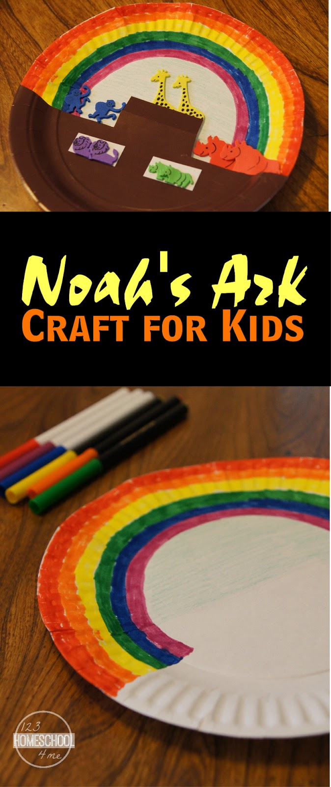 Noahs ark craft for Children s church lessons crafts