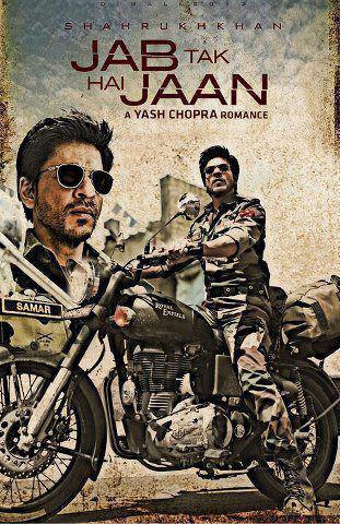 SRK in Jab Tak Hain Jaan Wallpaper