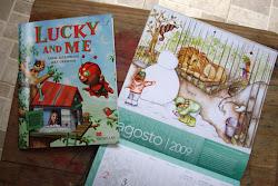 Libro Lucky and Me y Calendario 2009