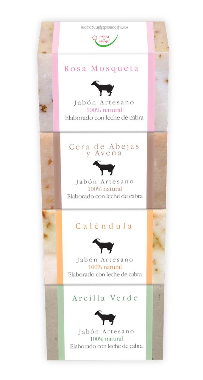 Jabones Pack 4
