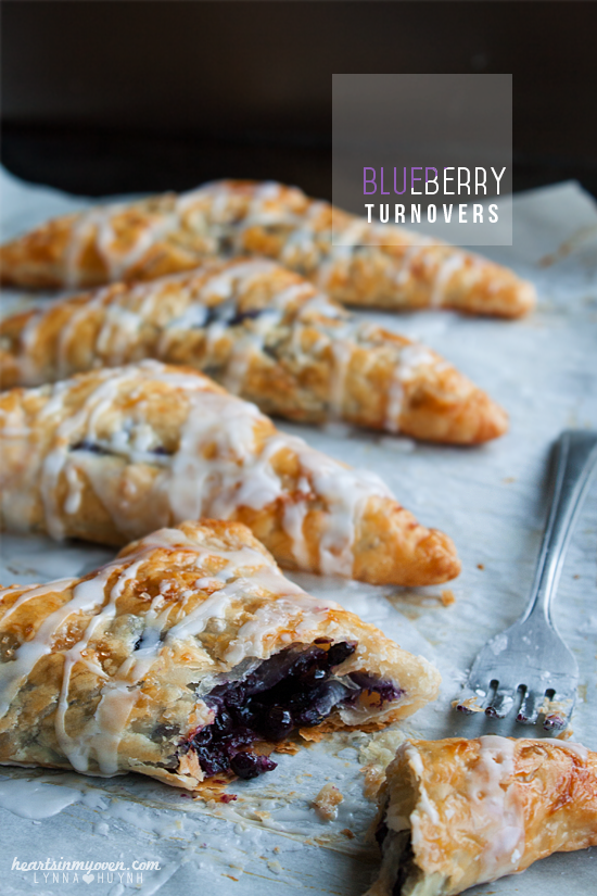Puff Pastry Berry Hearts Recipe — Dishmaps