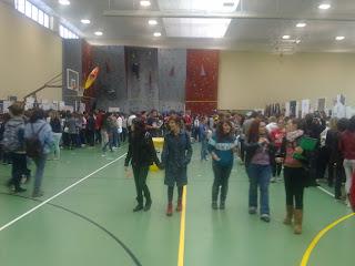 Feria de Bienvenida el pasado jueves en Salamanca