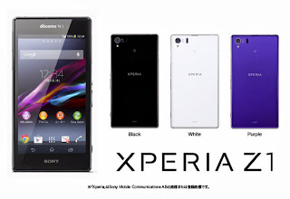 Sony Xperia Z1 - Japan Edition