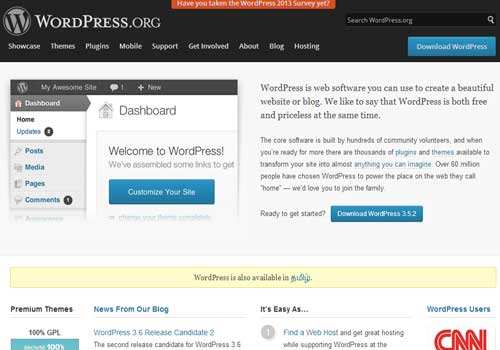 Wordpress ~ 43 Useful and Time Saving Web Development Kits and Frameworks