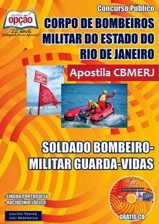 Apostila Corpo de Bombeiros Mlilitar RJ - Guarda-Vidas - Soldado CBMERJ 2015