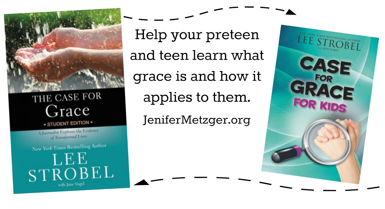 A Case for Grace for kids and teens. #grace #teenbooks #kidbooks
