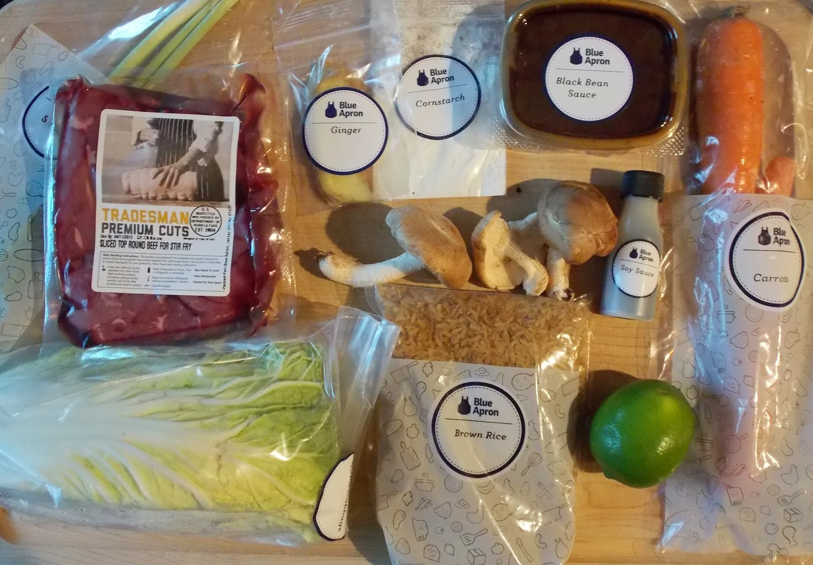 Blue apron waste - All Of The Ingredients Come Labeled And Portioned So There Is No Waste