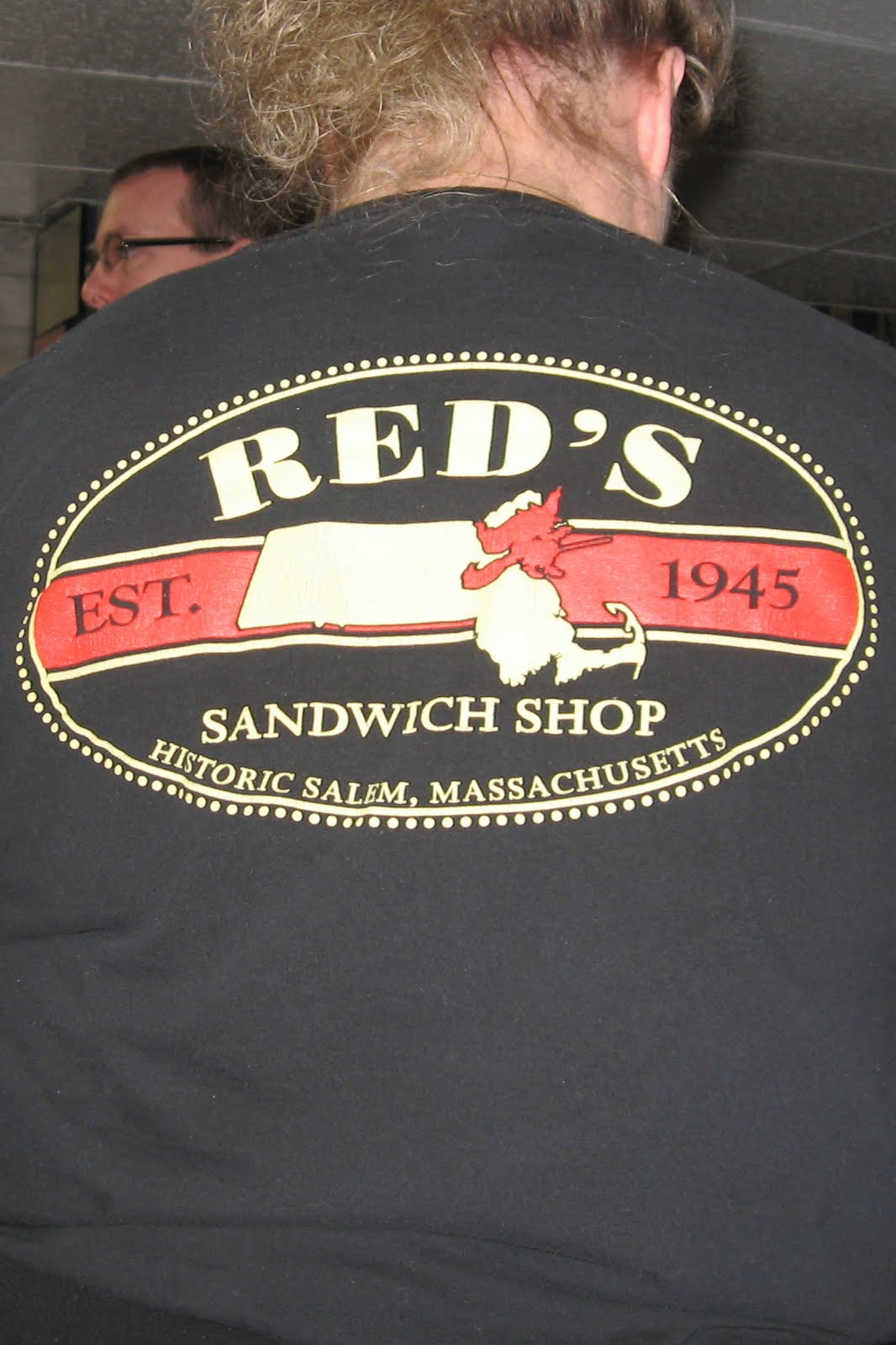 The Philosopher's Stone: Red's Sandwich Shop