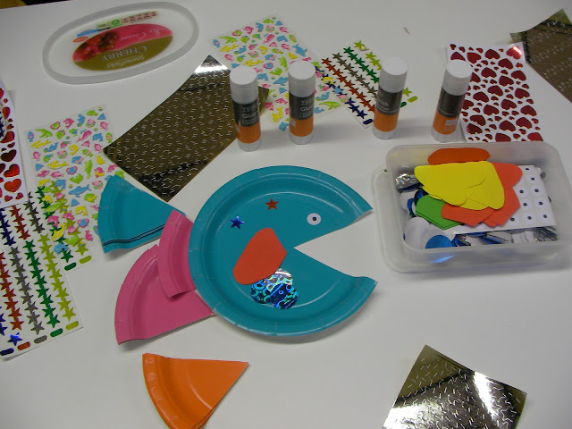Octonauts, fish, craft, party