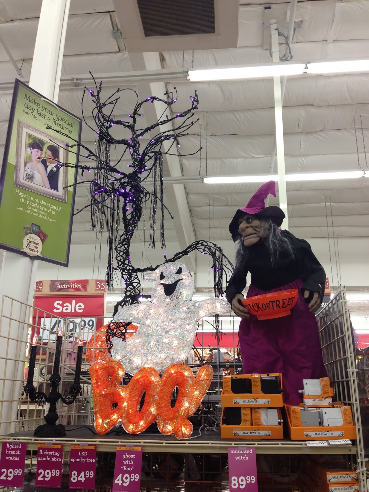 photo report halloween 2013 finds at michaels and dollar tree - Michaels Halloween