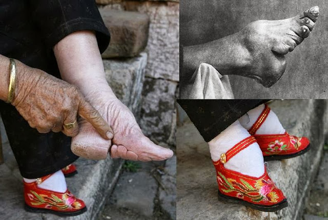 strange traditions of the world foot binding