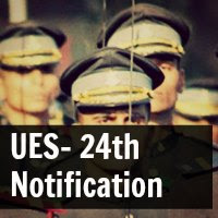 24th University Entry Scheme Notification