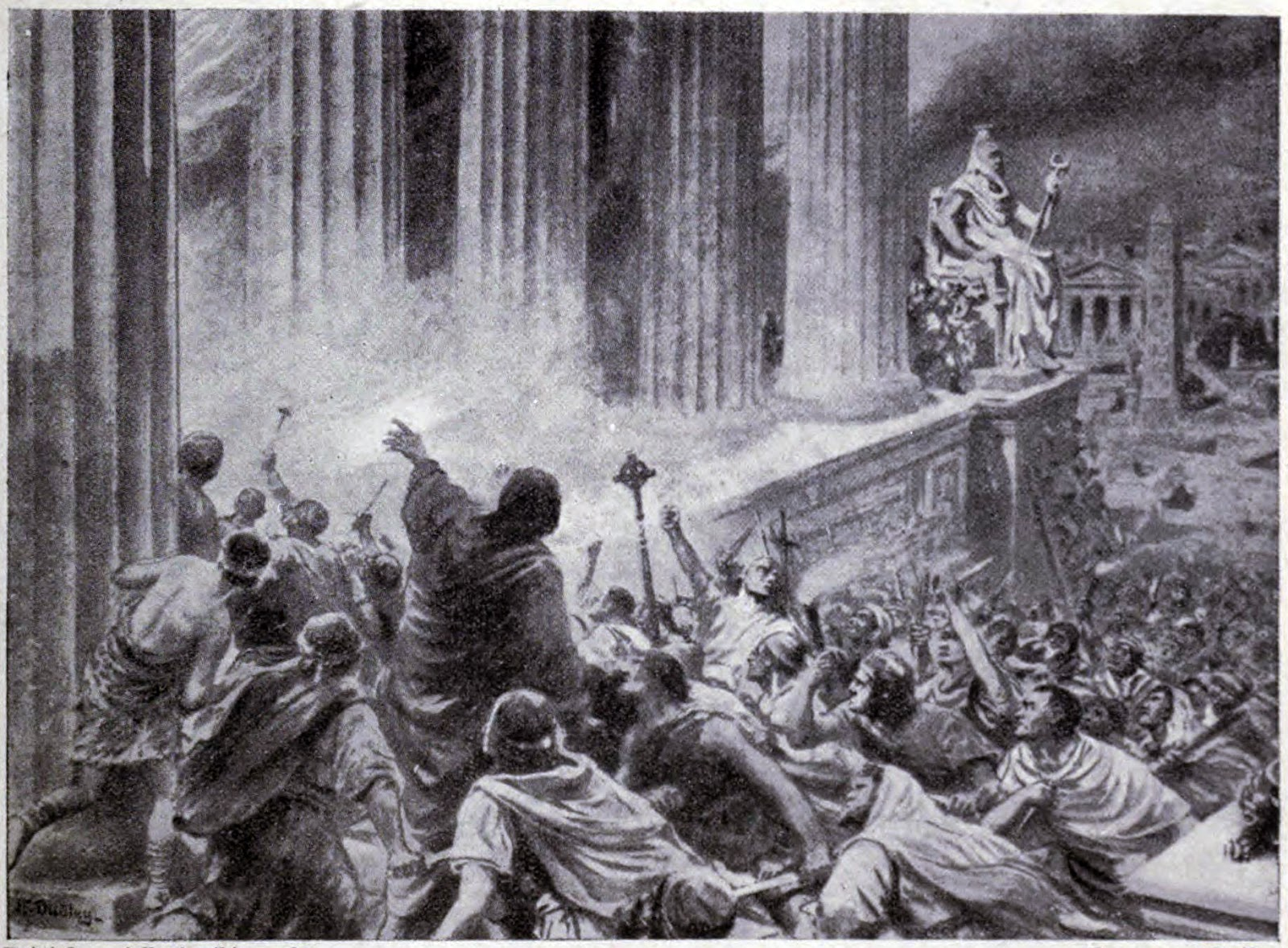 Burning of the Library
