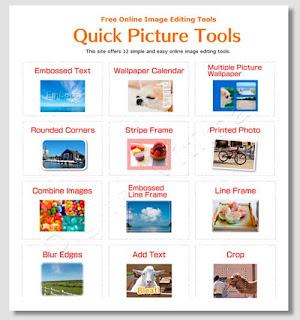 Quickpicturetools - editor de imagens on-line grátis