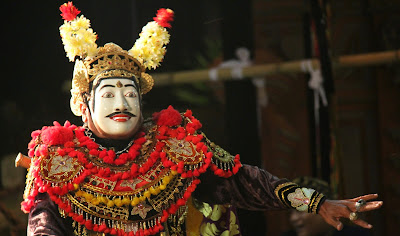 Balinese mask, traditional art that rich in character