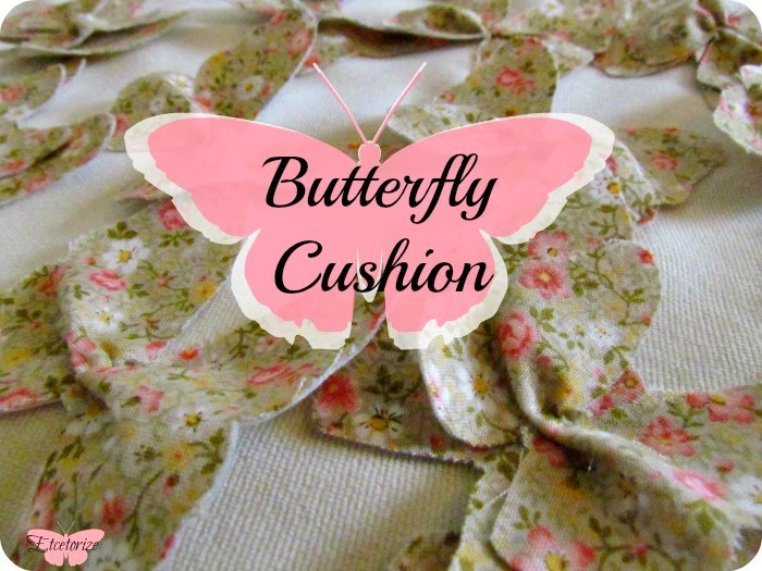 Butterfly Cushion, Butterfly pillow, Decorate a cushion