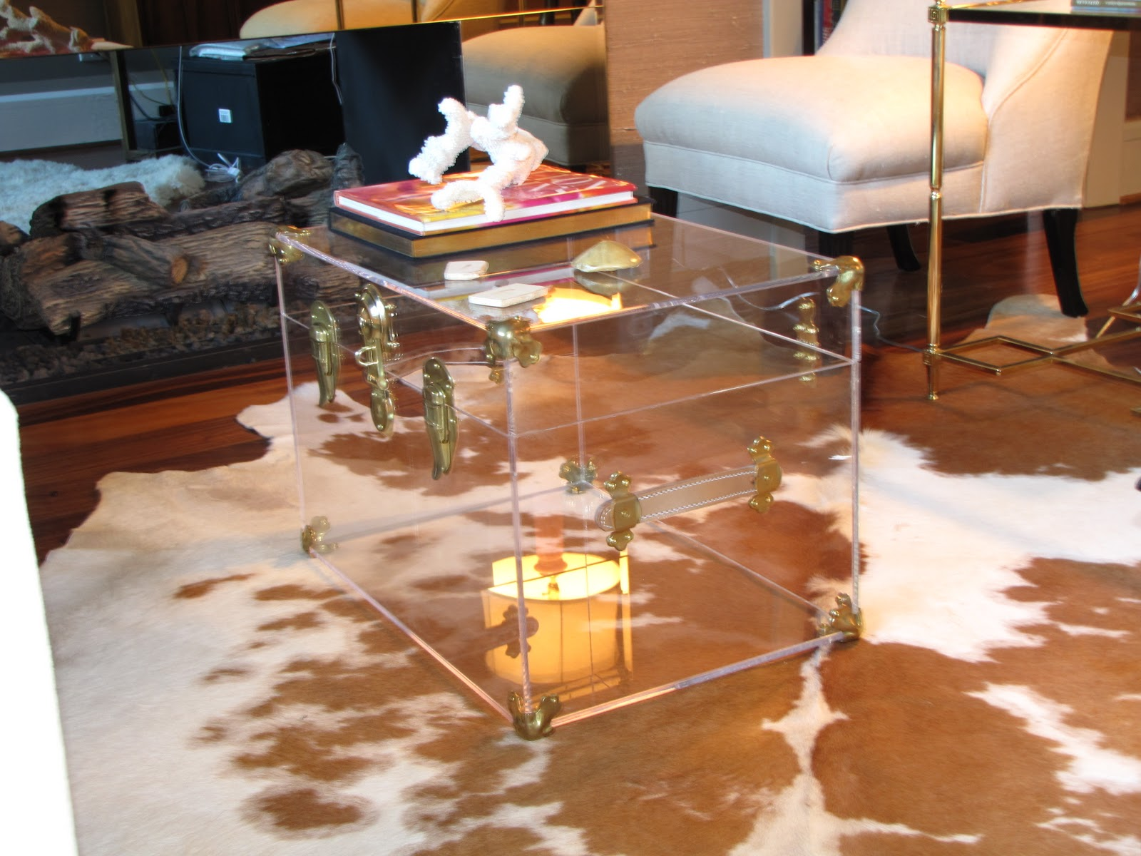 Lucite Trunk Coffee Table Interior Designs India Wood