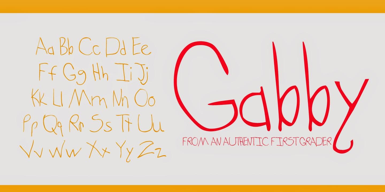 Gabby Font