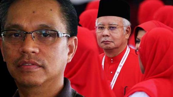 Shahbudin Hussin persoal keberanian Najib