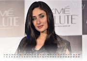 Kareena Kapoor Calendar May 2012. Beautiful Kareena Kapoor Desktop Calendar .