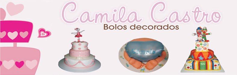 Camila Castro Bolos Decorados