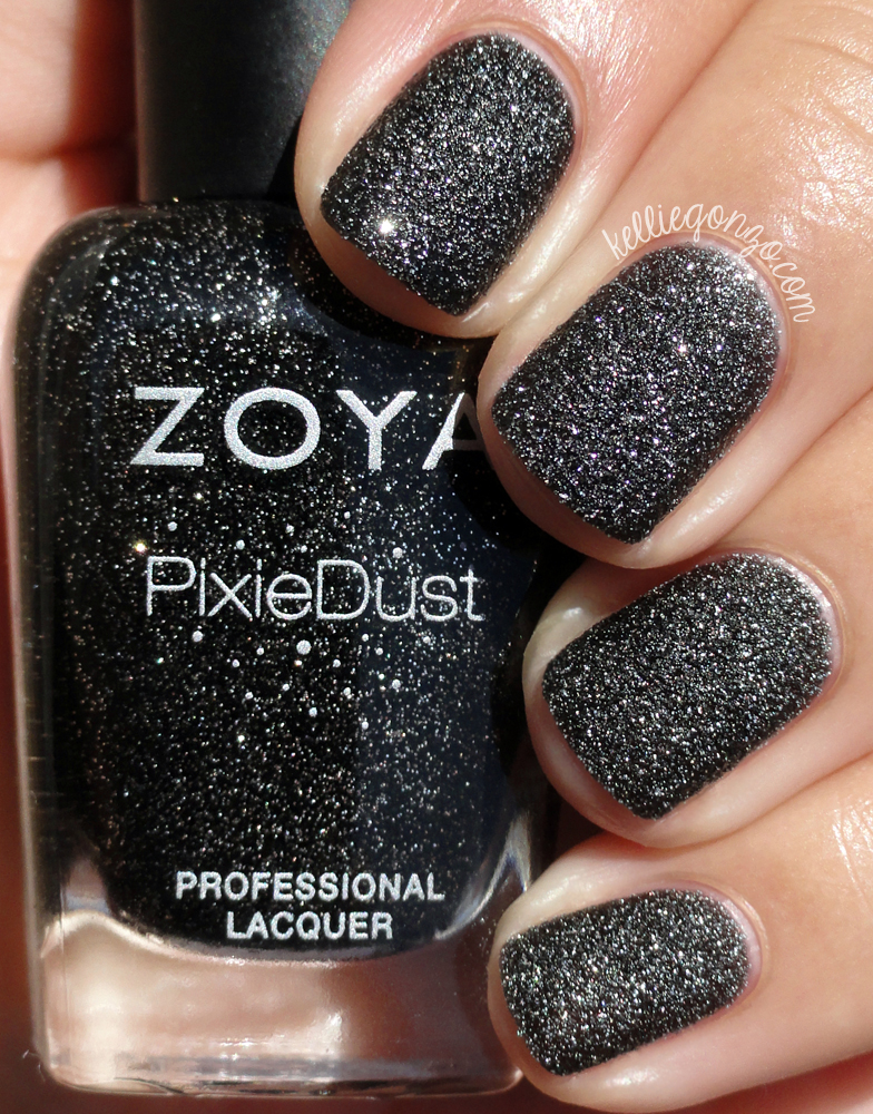 KellieGonzo Zoya PixieDust Spring 2013 Collection Swatches Review