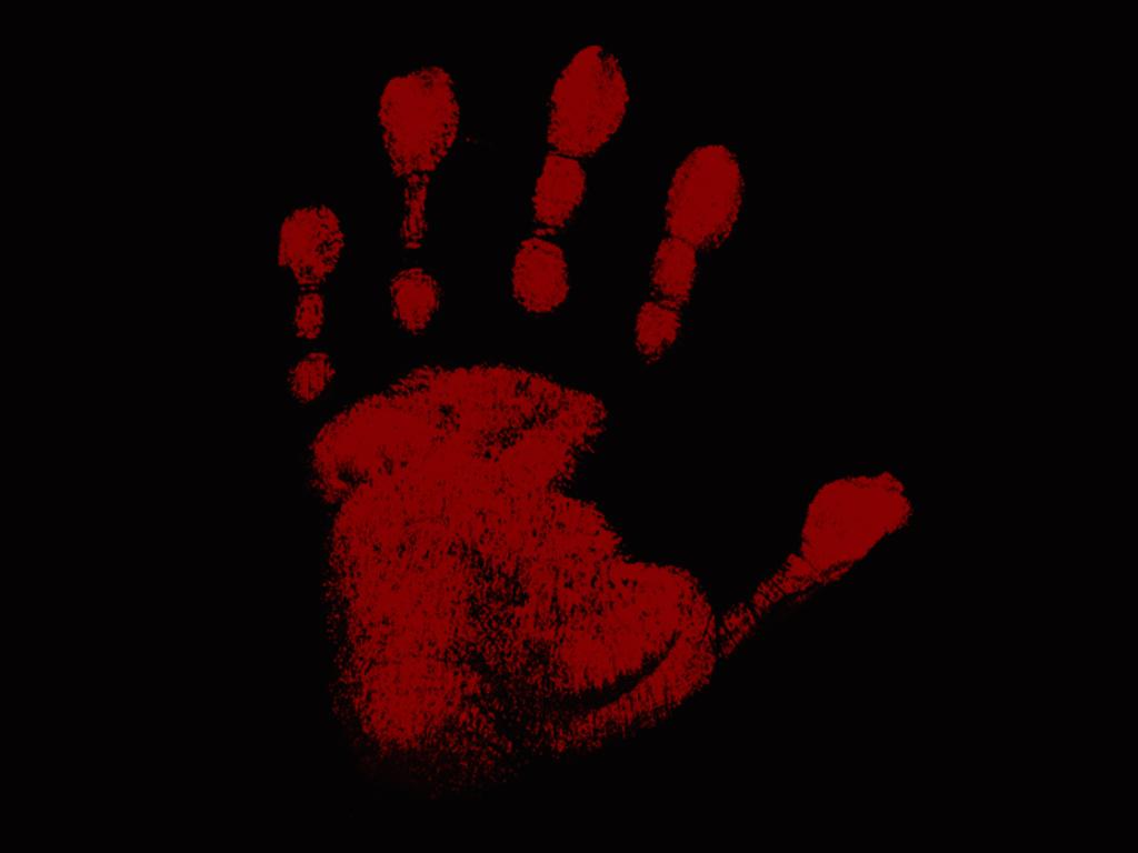black bloody handprint background related keywords black