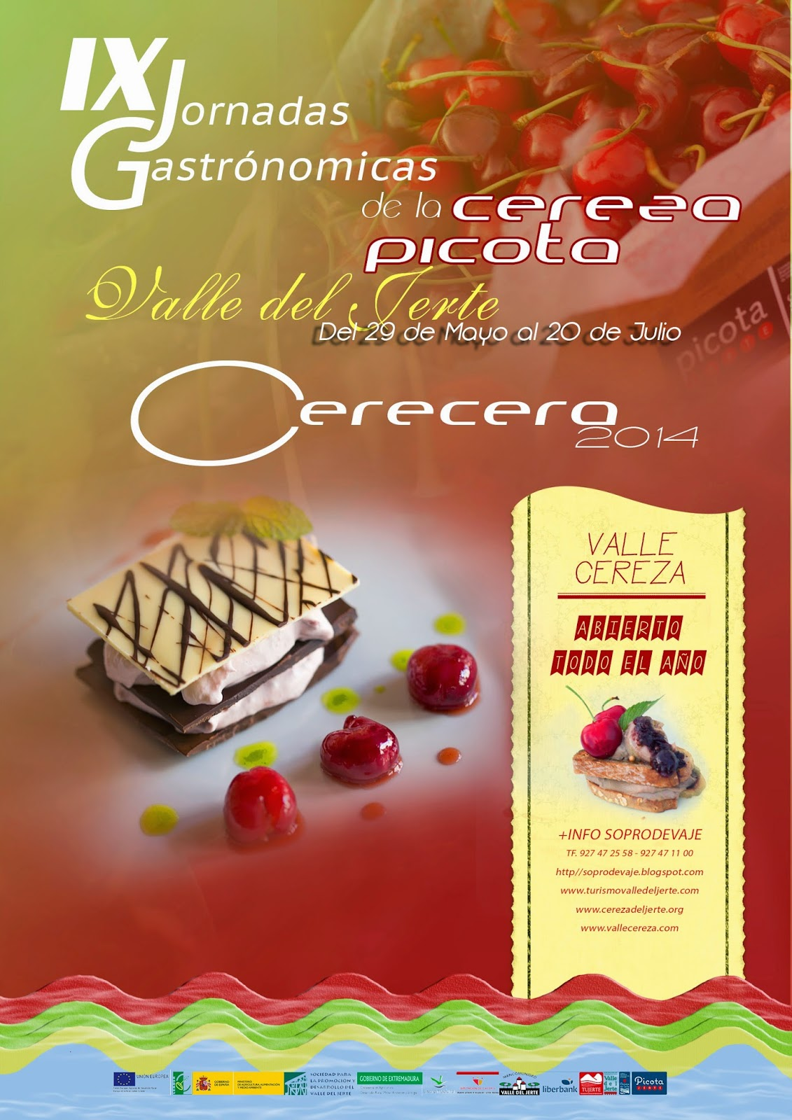 IX Jornadas Gastronómicas de la Cereza Picota